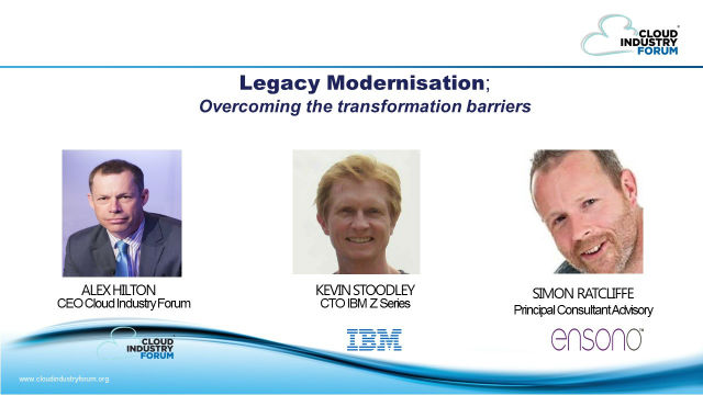 Legacy Modernisation: overcoming the transformation barriers